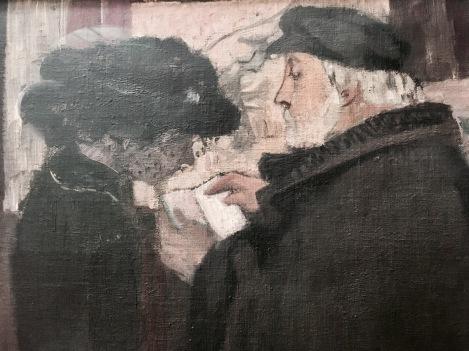Degas et son modèle, tableau de Maurice Denis